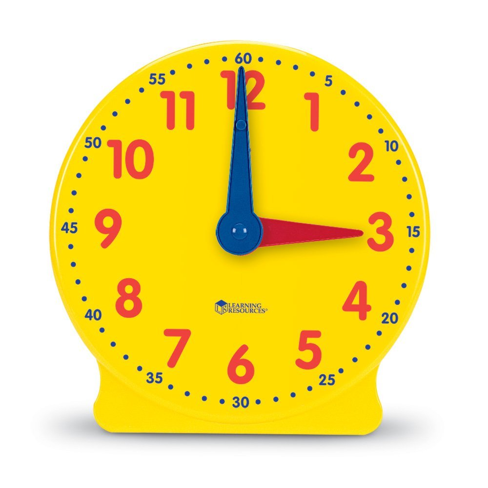 math manipulatives every classroom needs - teacher clock