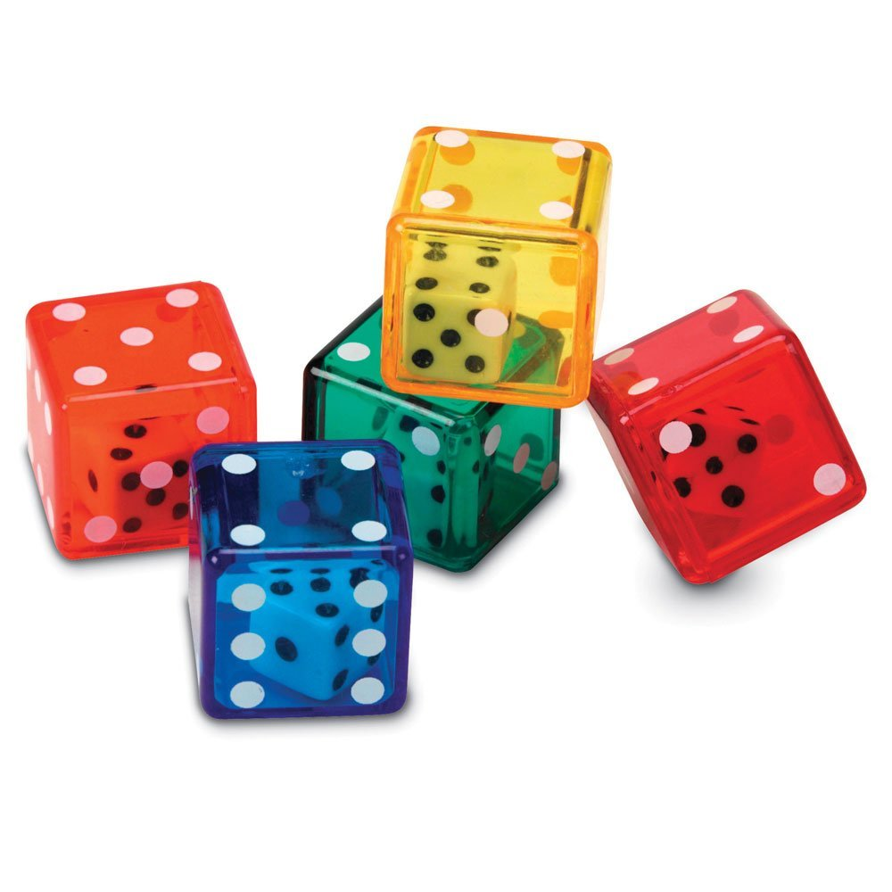 math manipulatives every classroom needs - dice in dice