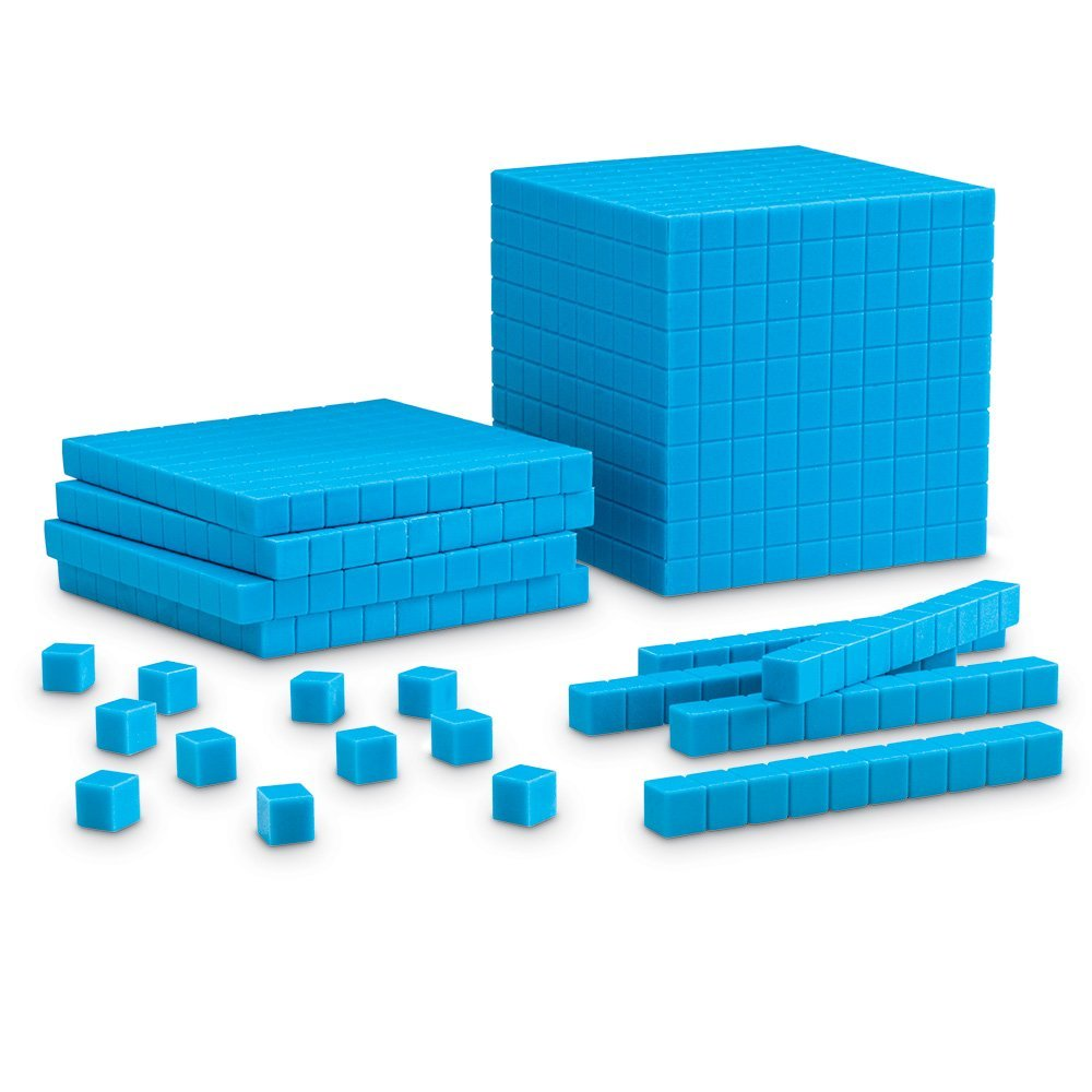 math manipulatives every classroom needs - base ten blocks