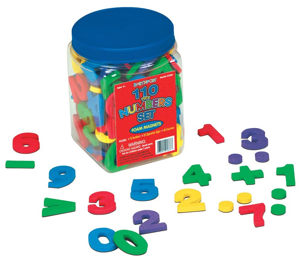 math manipulatives every classroom needs - foam magnetic numbers