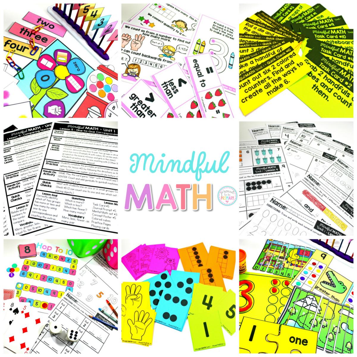 Mindful Math Curriculum