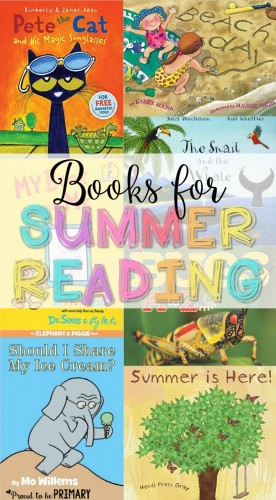 summer reading activities for kids - books