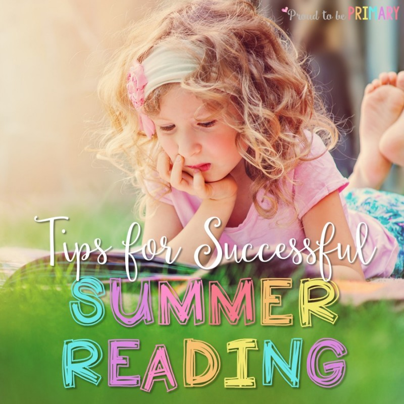 Summer Reading Tips