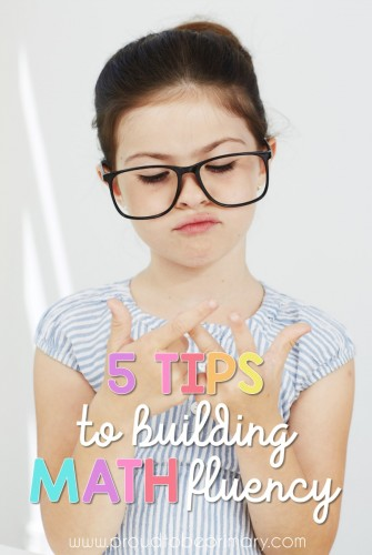 Primary classroom teachers need to read these tips for building math fluency in kids. These learning ideas will help students develop confidence, stay engaged, and build math skills through fun practice like games and centers. #mathfluency #mathworkshop #teachingmath #mathforkids #mathactivities