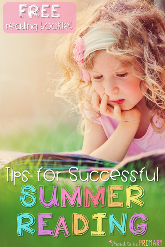tips for successful summer reading and free activities booklet