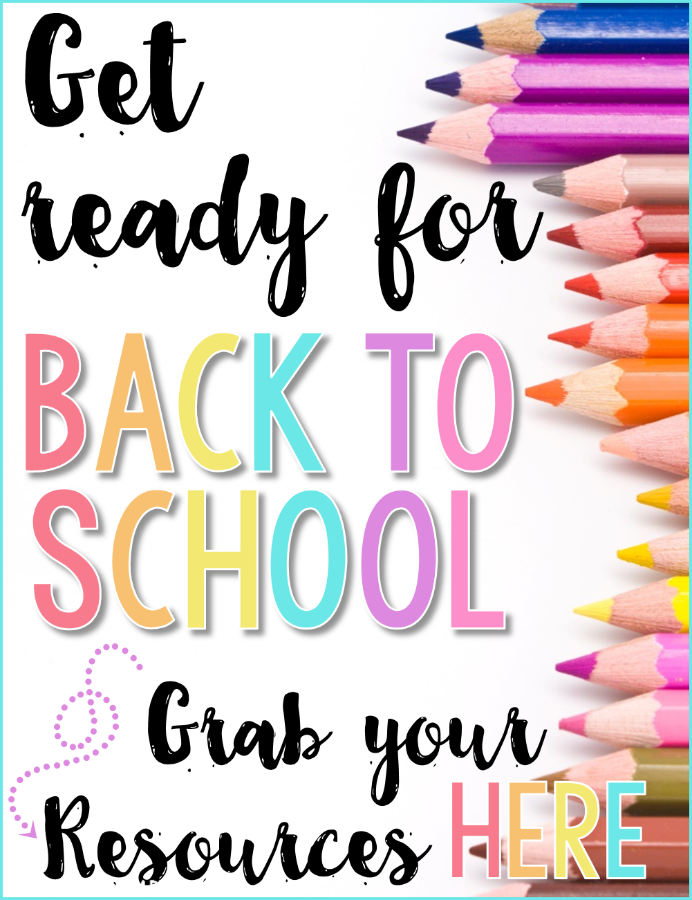 back to school products by Proud to be Primary