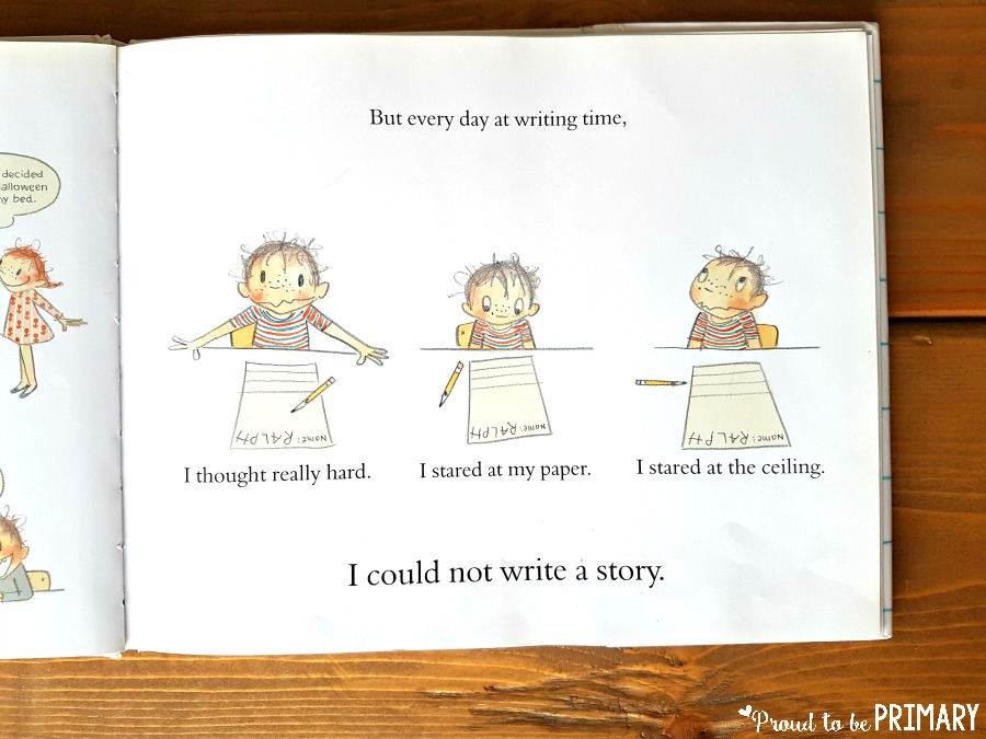 writing ideas for kids - ralph tells a story