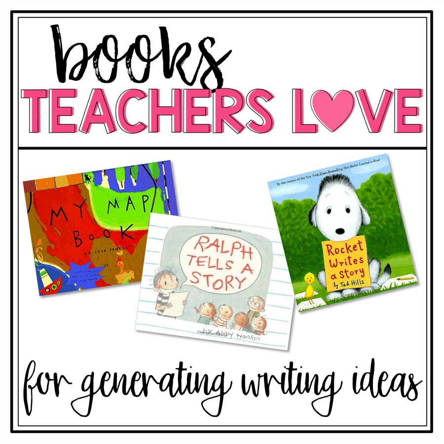 Teachers, ever have students struggle with coming up with writing topics? This post includes writing lessons and books for generating ideas. Grab the FREE writing templates to help kids get their ideas writing down and ready for writer's workshop. #writersworkshop #writingcenter #teachingwriting #creativewriting #kidwriting #writingprintables