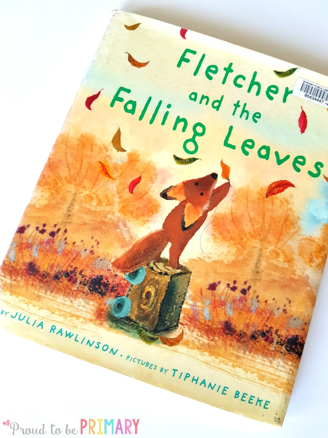 leaf activity for fall learning- fletcher and the falling leaves