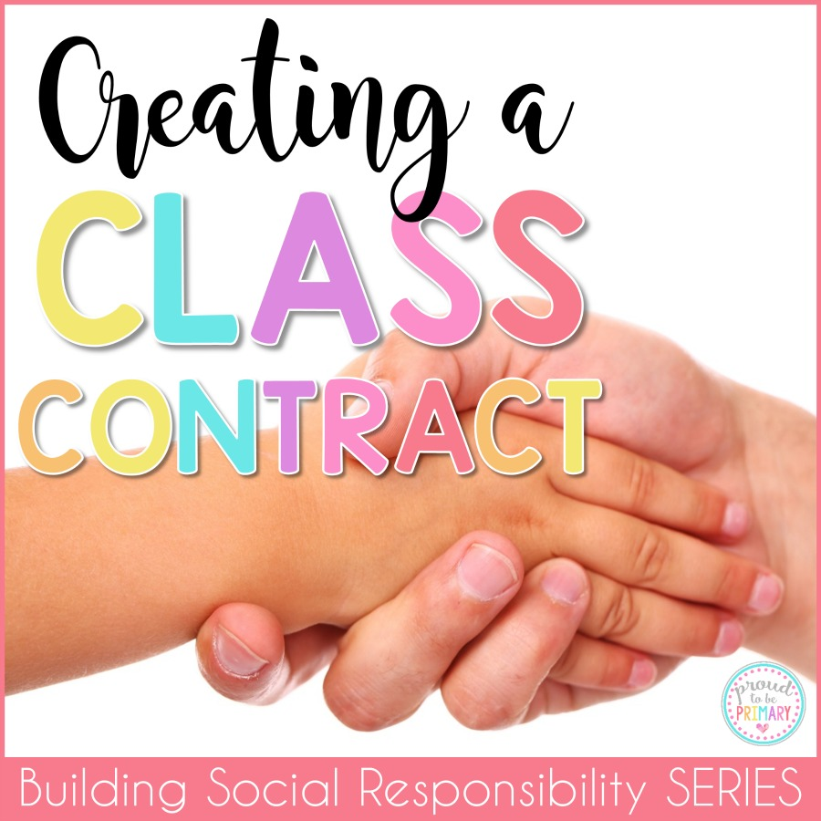 building classroom expectations - create a class contract