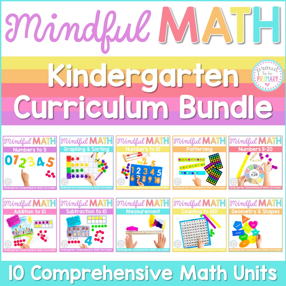 Mindful Math kindergarten math curriculum