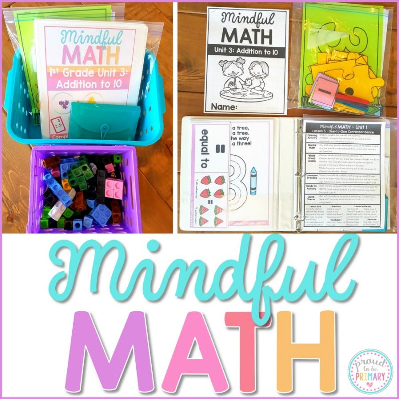 Mindful Math Curriculum