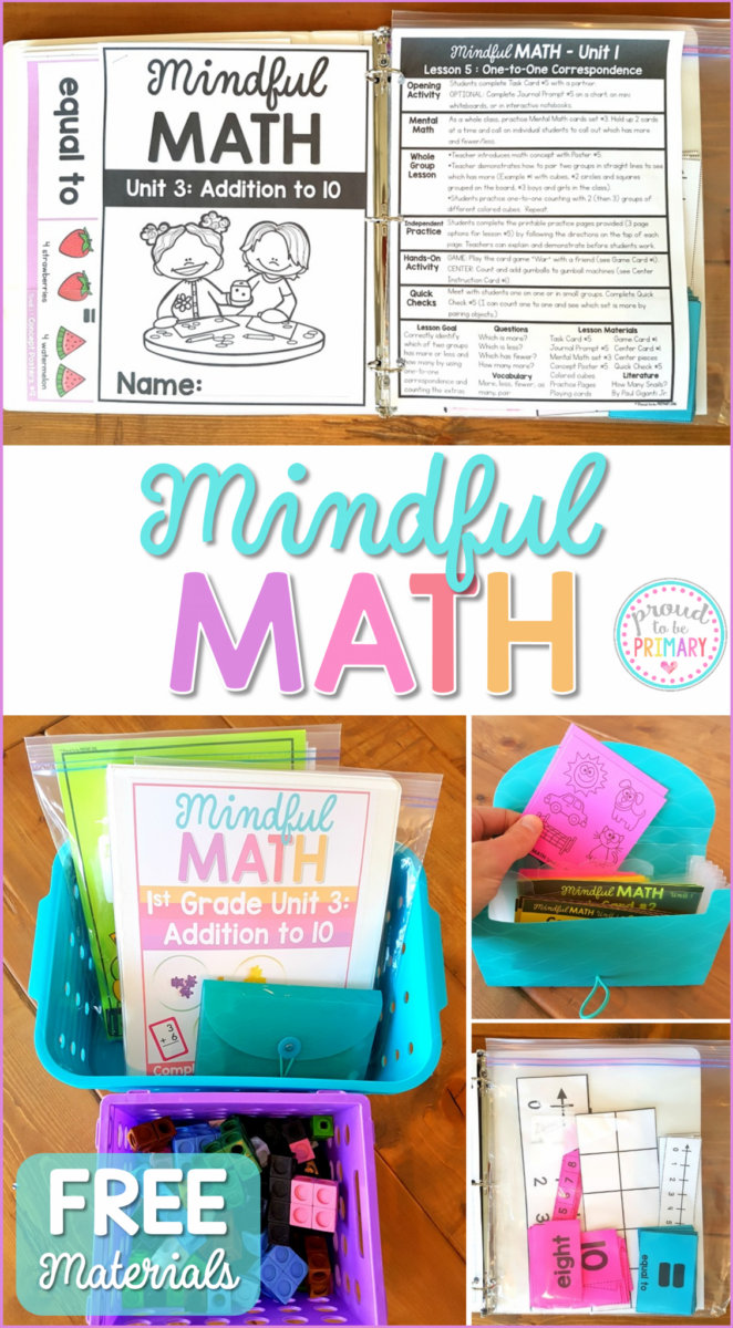 math program - mindful math