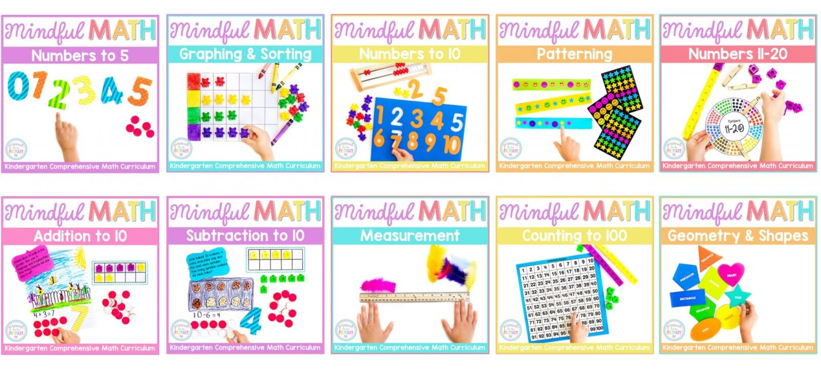 mindful math for kindergarten