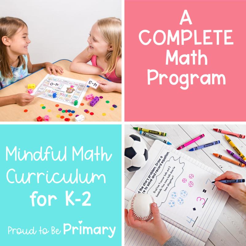 Mindful Math: The ONE Math Program You Need!