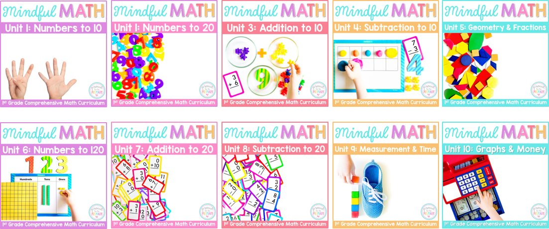 mindful math program for first grade