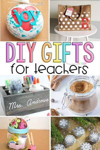 DIY Gifts for Teachers that will Knock their Stockings Off