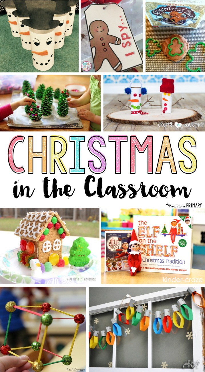 Classroom Craft Idea ~ Christmas in the classroom ideas proud to be primary