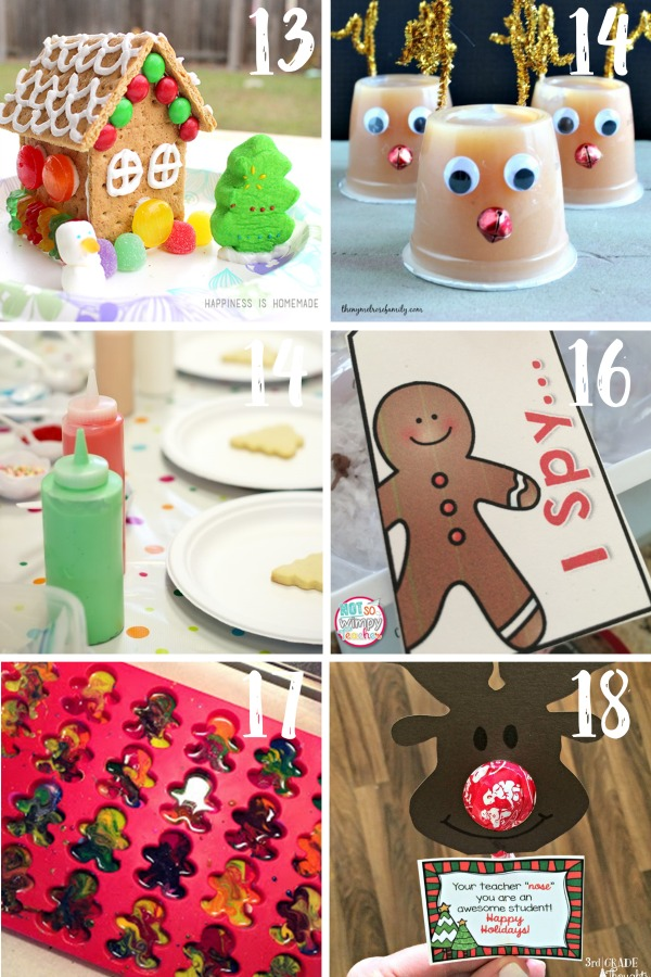 30 of the BEST Christmas in the classroom ideas for teachers. Plan your December with these arts & crafts, games and activities, decorations and cards, gift and book ideas, STEM activities and more!