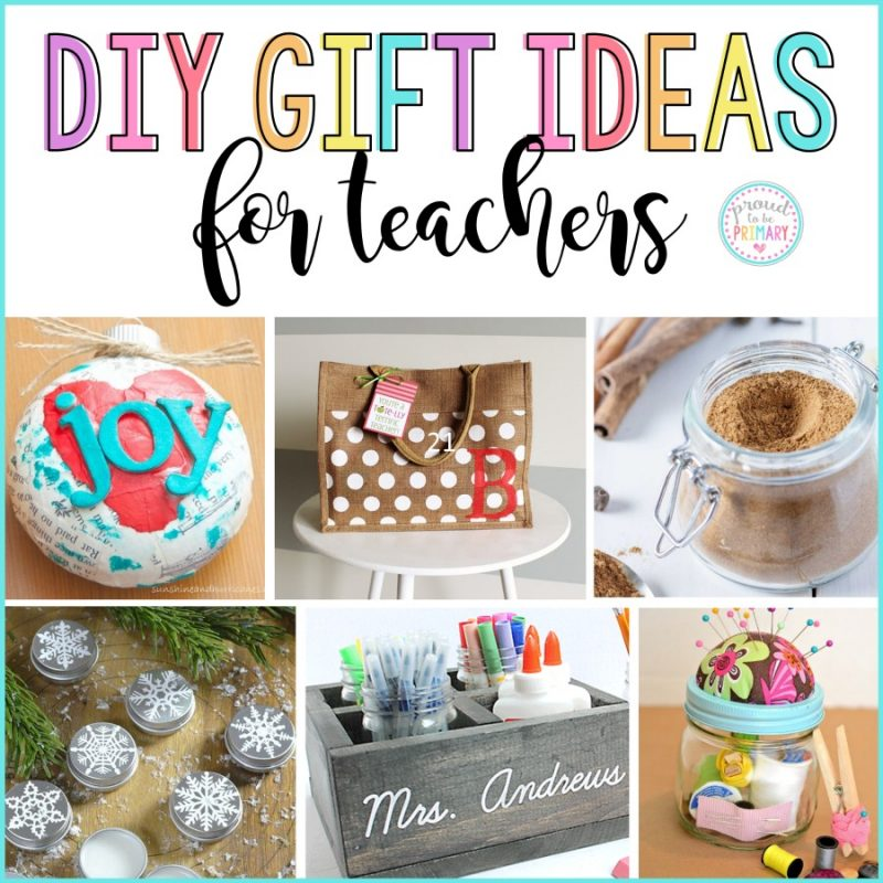 DIY Holiday Gifts for Teachers