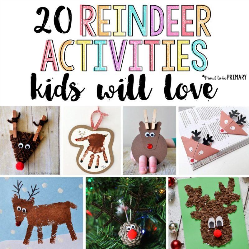 20 Reindeer Activities for Kids