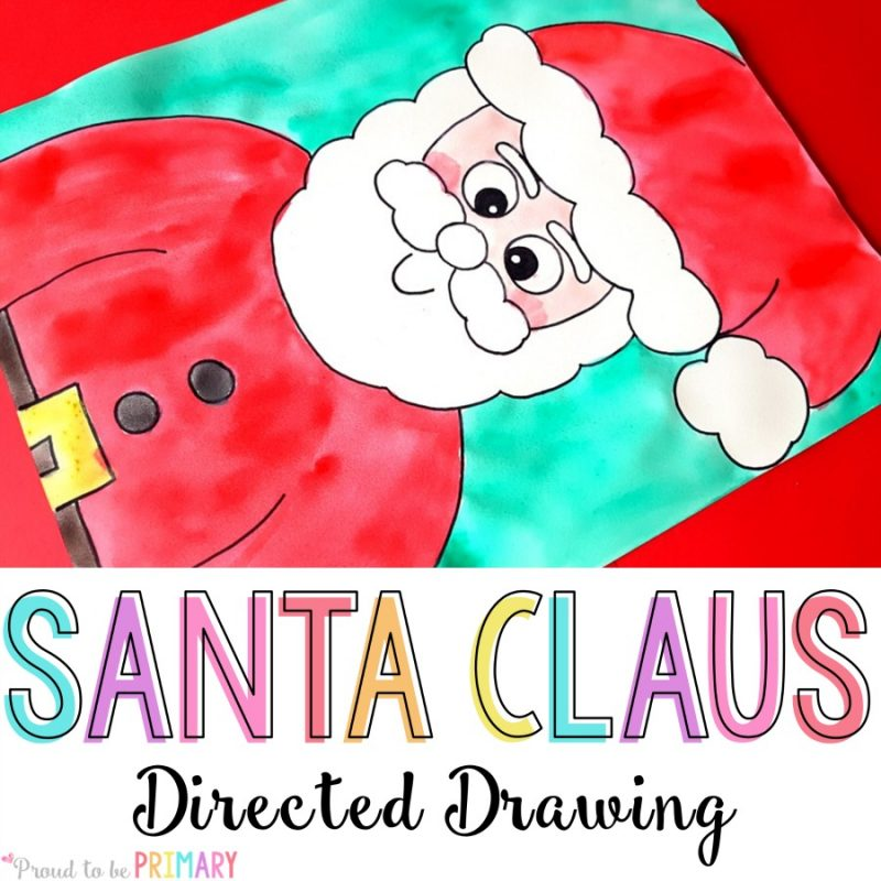Santa Claus Directed Drawing