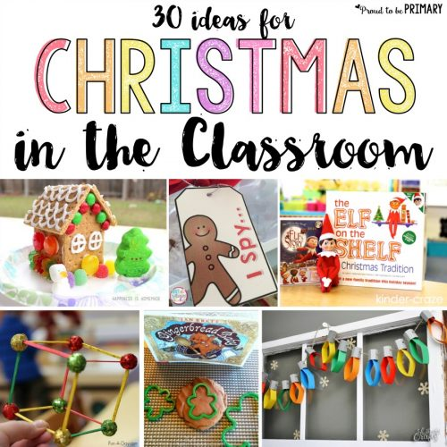 Christmas classroom activities