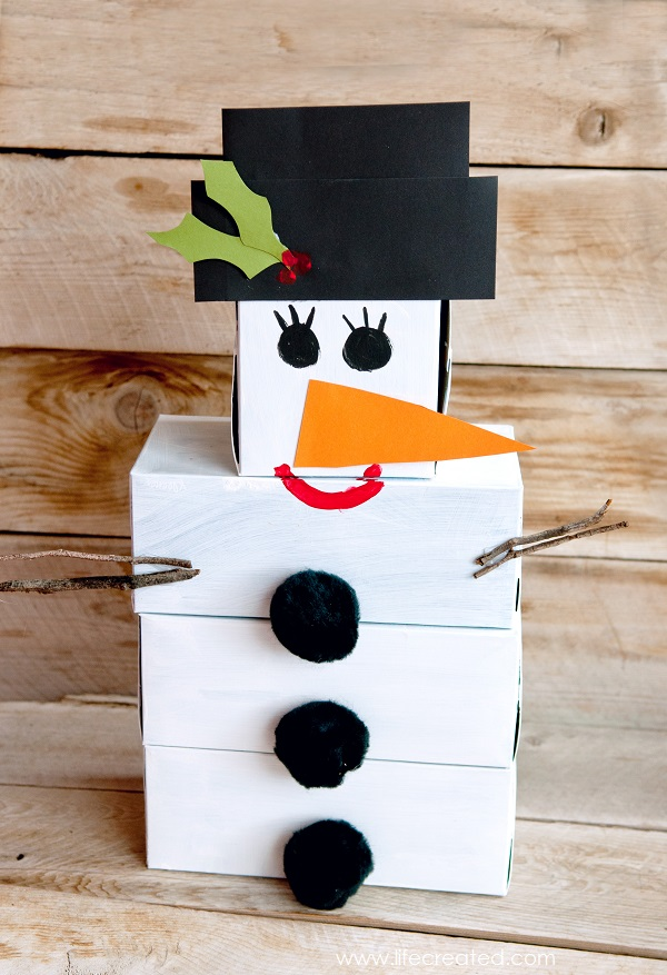 Craftaholics Anonymous - DIY Snowman Bowling Game