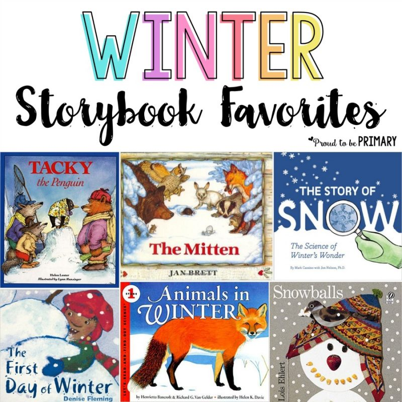 Favorite Children's Books for Winter