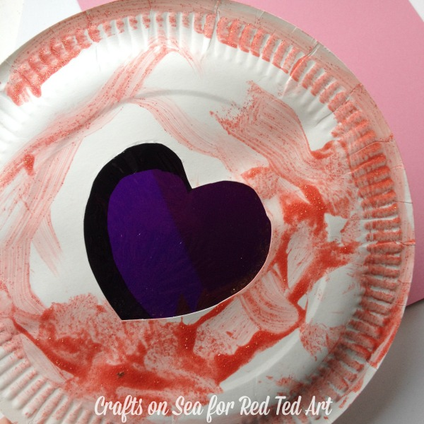 Red Ted Art - Valentines Heart Shaker