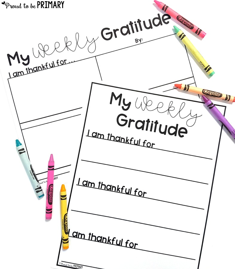 The Gratitude Lesson For Your Class For Which Youll Be Grateful