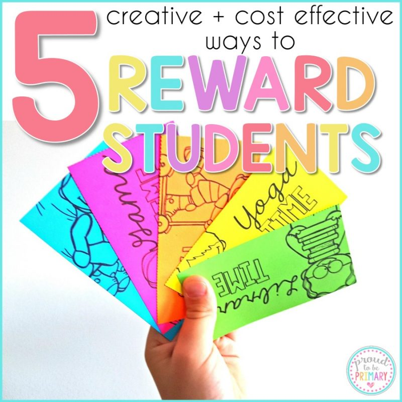 Rewards for Kids: 5 Creative and Cost Effective Ways