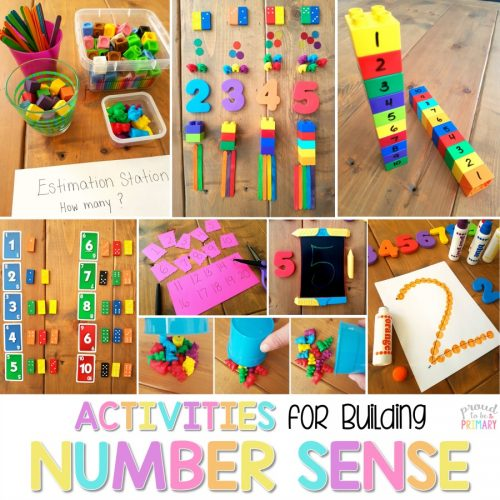 number sense activities and lessons