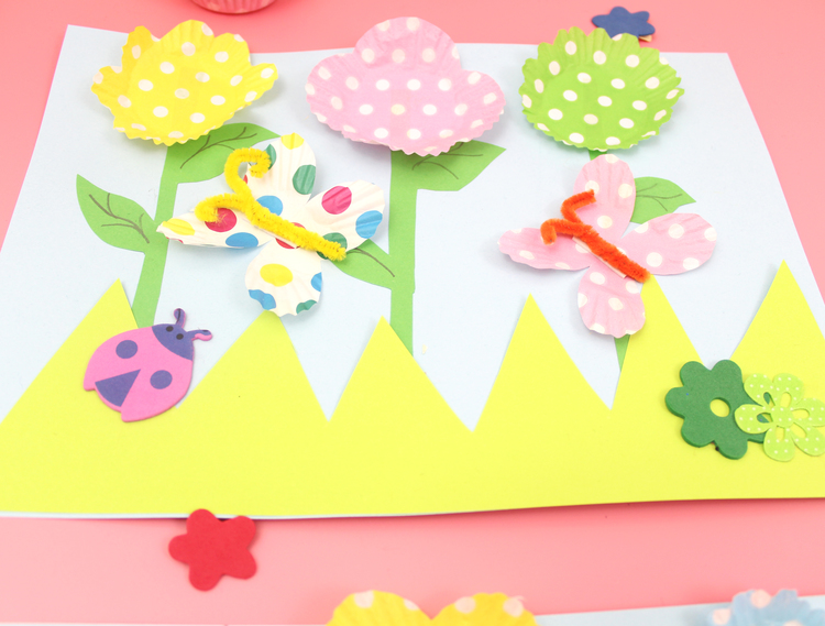 Chloe Me Just Me - 3D Spring Flowers Craft