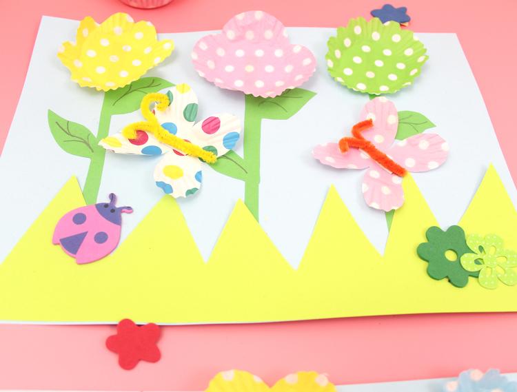 Chloe Me Just Me - 3D Spring Flowers Craft