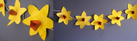 Nature Store Blog - Daffodil Bunting