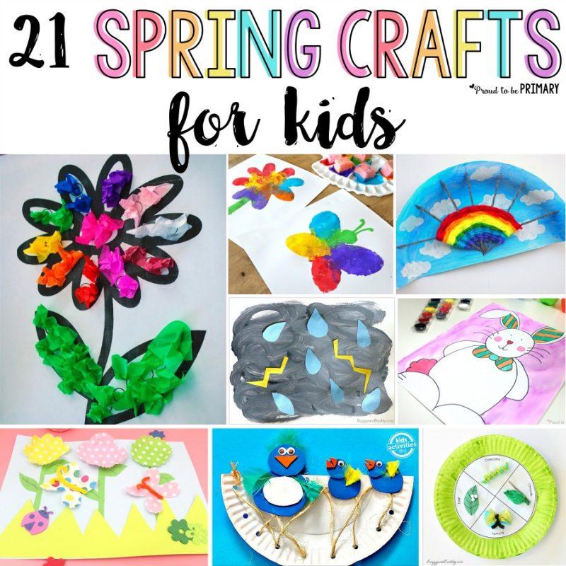 21 Spring Crafts for Kids