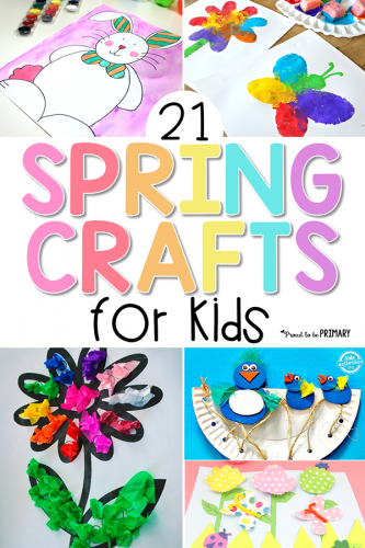 Spring Crafts For Kids 21 Fun Ones To Try Proud To Be Primary