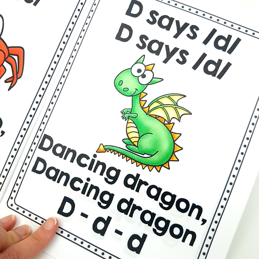 letter recognition - animal alphabet jive