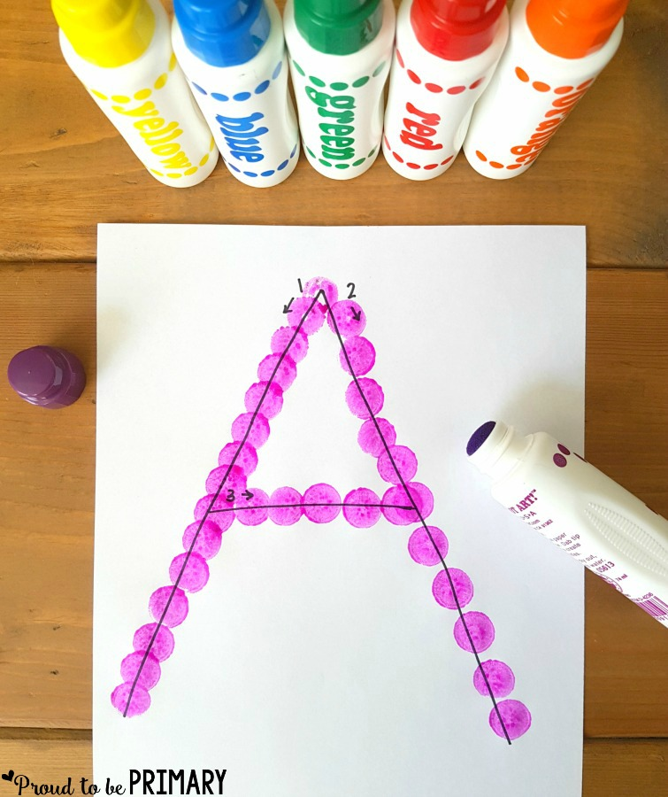 Fun Ways to Teach Letter Recognition | Preschool and kindergarten children will enjoy these fun, creative ways to learn and practice the alphabet. The literacy activities include letter songs, games, books, tracing, crafts, and FREE printable resources to build letter identification and phonetic skills.