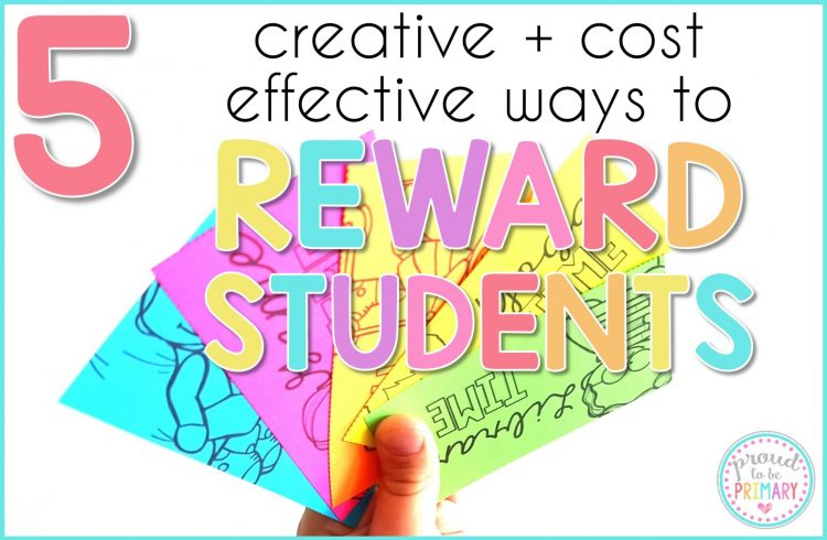 creative and cost effective rewards for kids