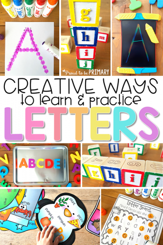 Creative And Engaging Ways To Teach Letter Recognition Proud To Be