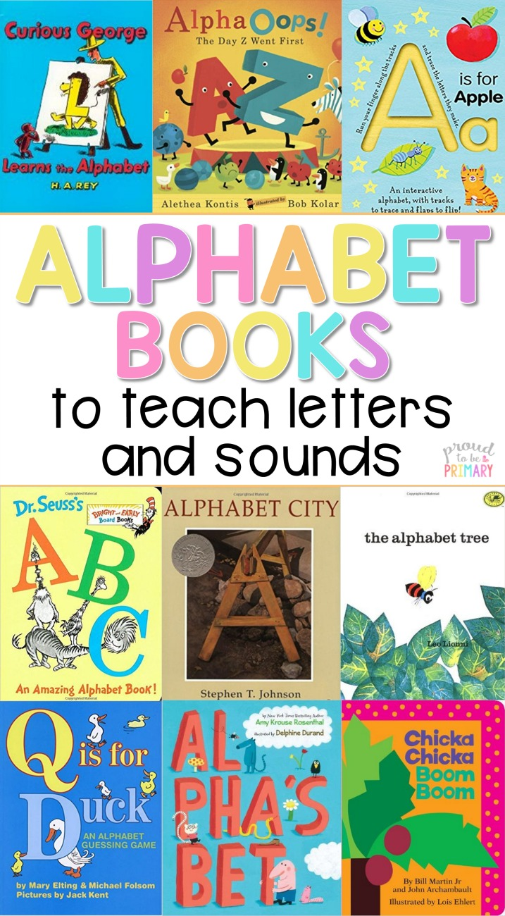This Is The ULTIMATE GUIDE To BEST Childrens Literature For Teaching Alphabet In Preschool