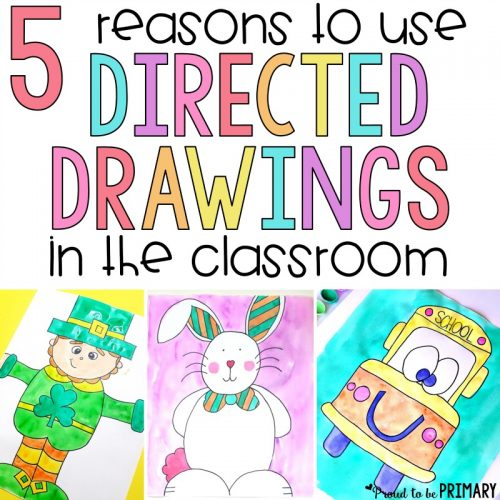 directed drawing in the classroom