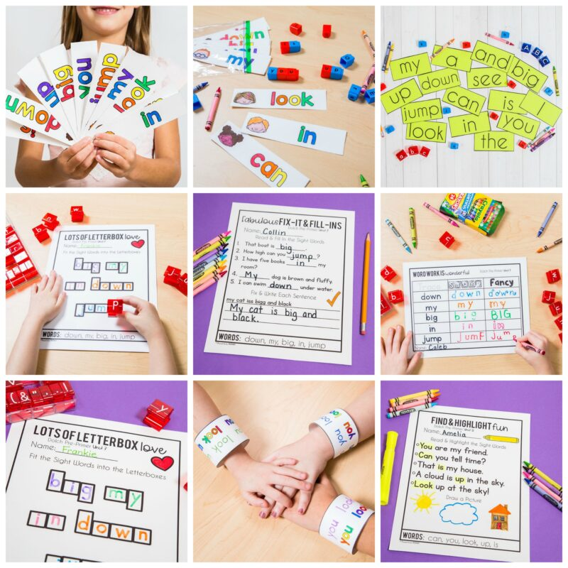teaching sight words - complete sight words curriculum