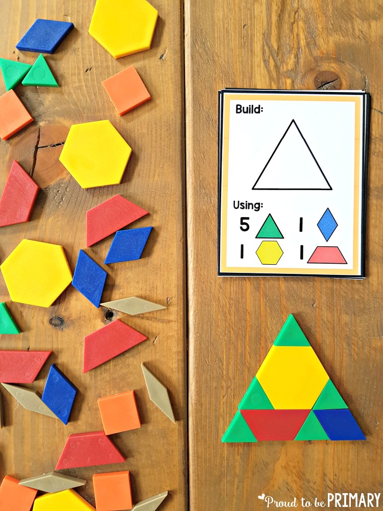 geometry and shapes for kids - tangrams