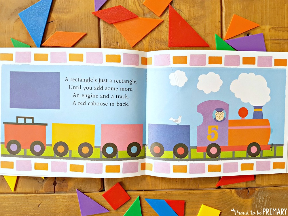 geometry and shapes for kids - the shape of things book