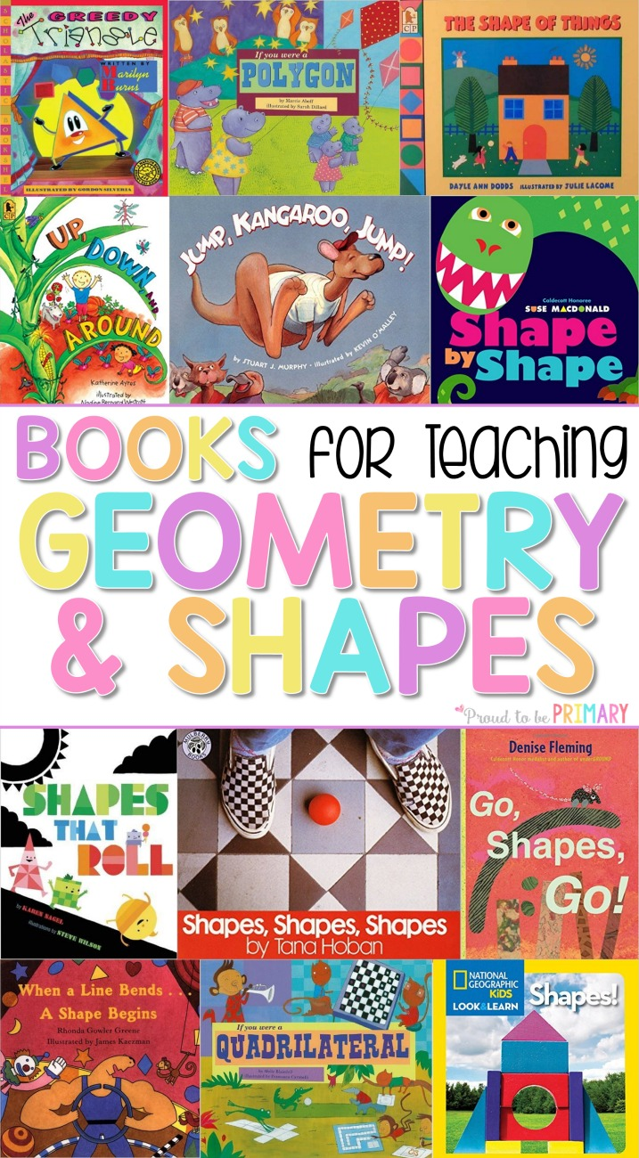 books for teaching geometry and shapes