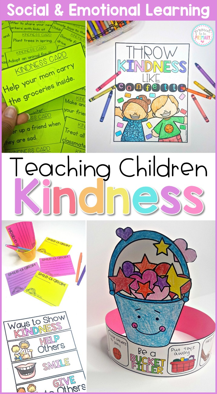 kindness activities - curriculum