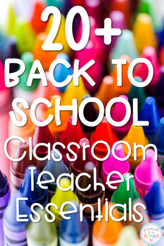 back to school classroom essentials